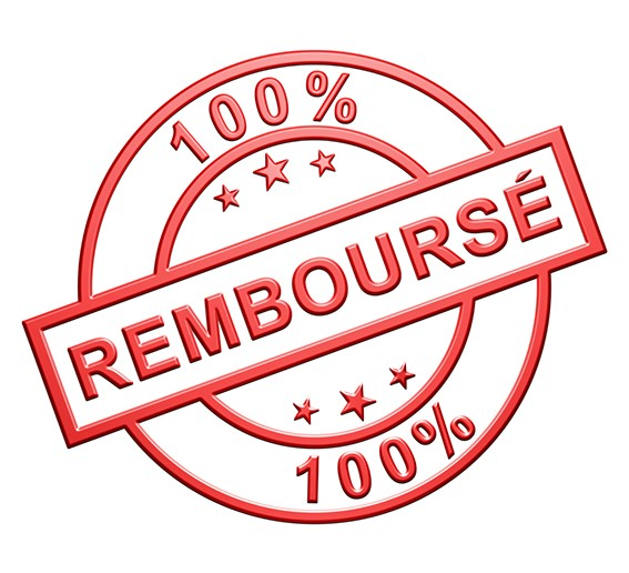 100% remboursement